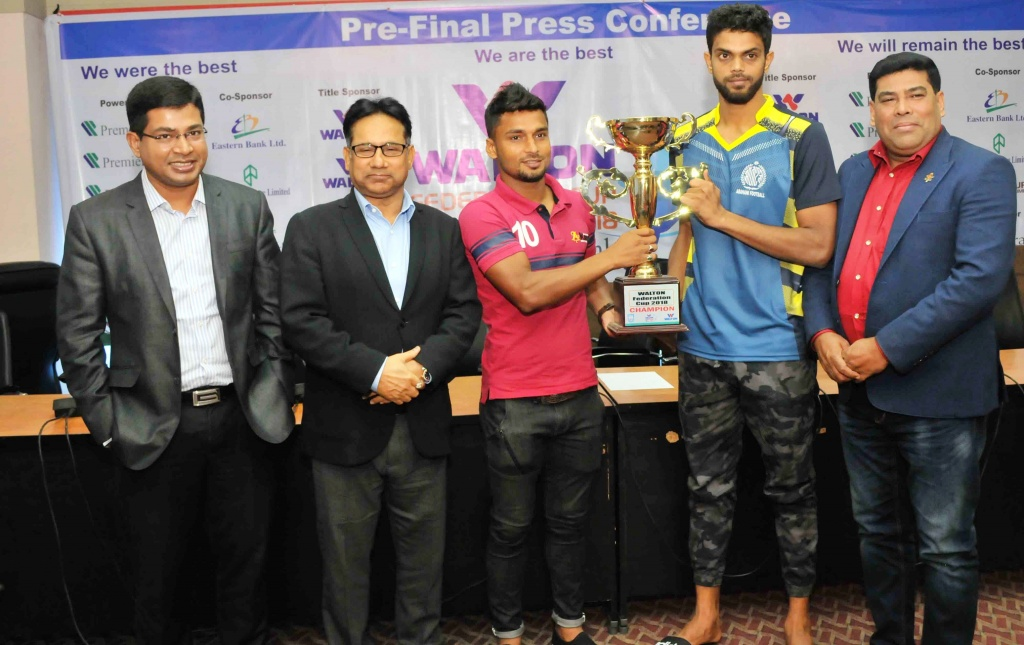 Abahani, Bashundhara Kings geared up for Federation Cup final
